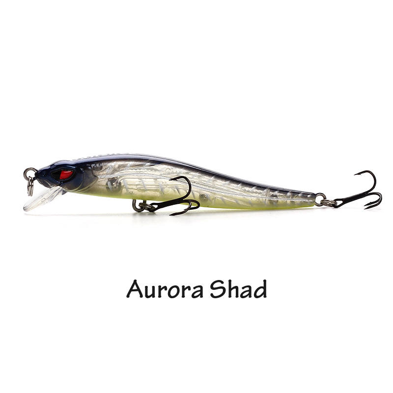XIN-V -High-quality Crappie Lures | Xin-v Minnow Lure 80mm 5g Vm03 Floating Minnow Lure-1