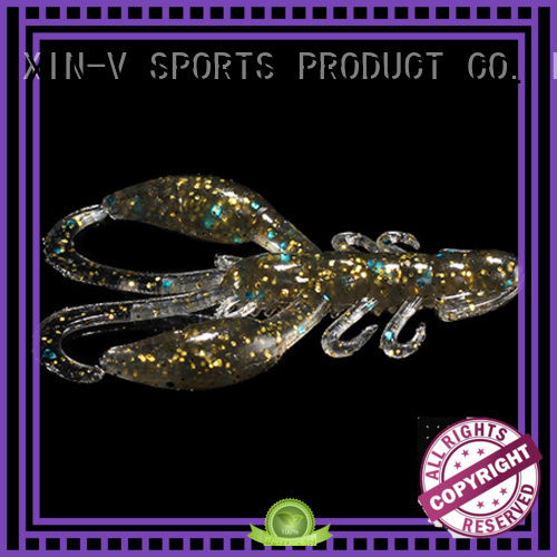 XINV free soft plastic baits in bulk series for outdoor
