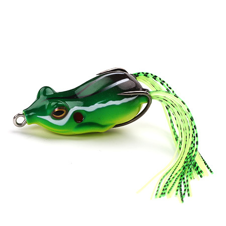 XIN-V Soft Lure Frog Free Sample 50mm 11g Artificial 3D Eyes Frog