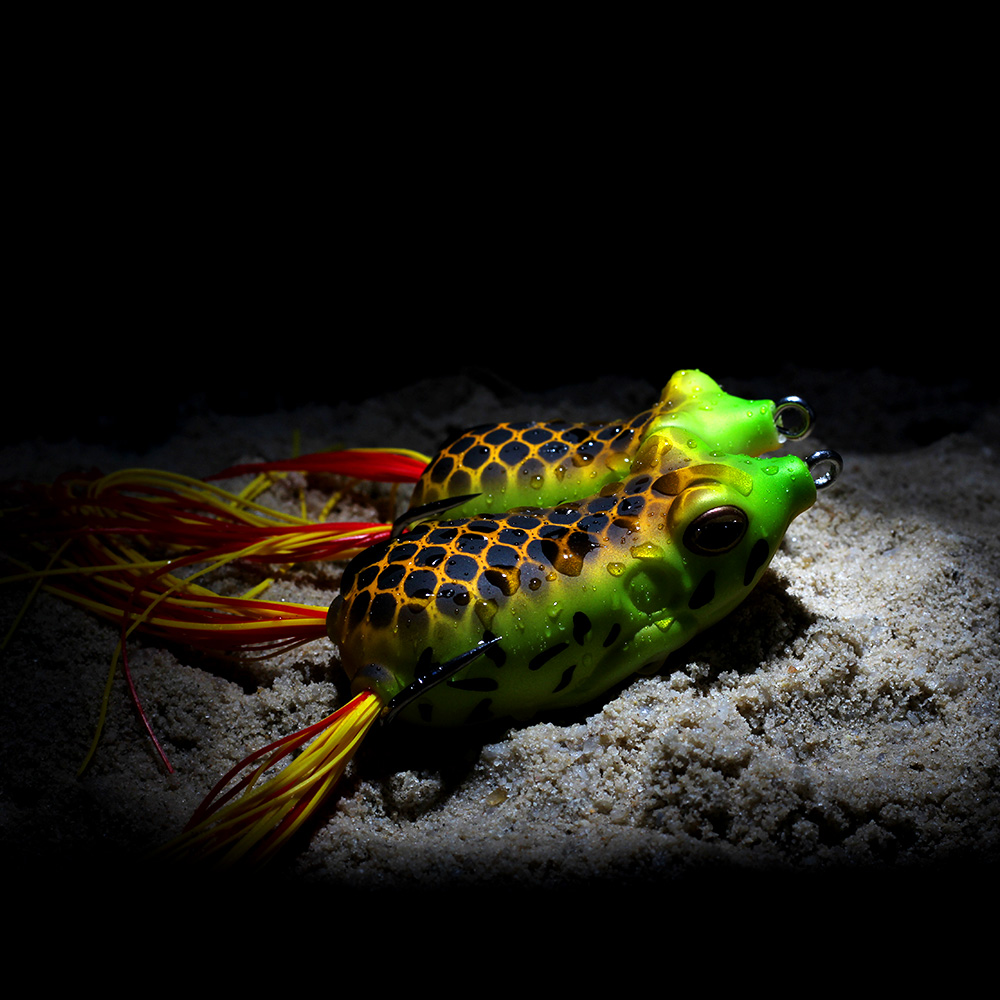 XIN-V -High-quality Xin-v Soft Lure Frog Free Sample 50mm 11g Artificial Lure-1