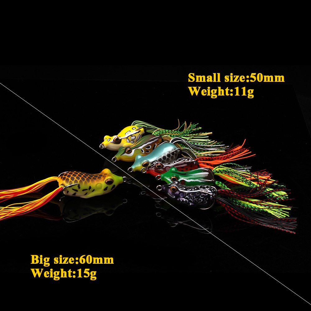 XIN-V -High-quality Xin-v Soft Lure Frog Free Sample 50mm 11g Artificial Lure-2