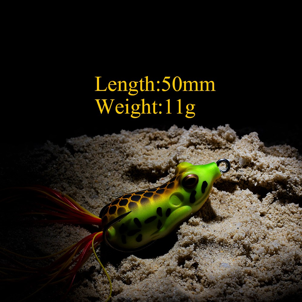 XIN-V -High-quality Xin-v Soft Lure Frog Free Sample 50mm 11g Artificial Lure