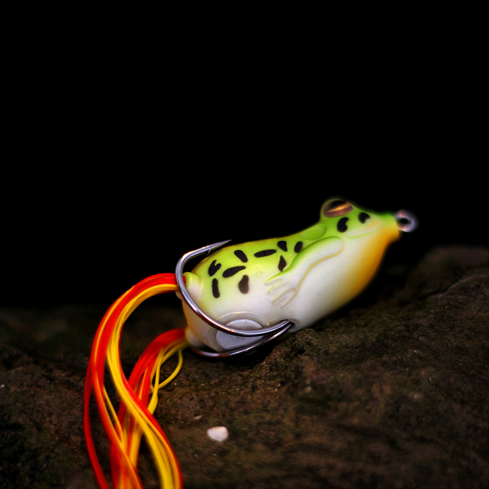 XIN-V -High-quality Xin-v Soft Lure Frog Free Sample 50mm 11g Artificial Lure-4