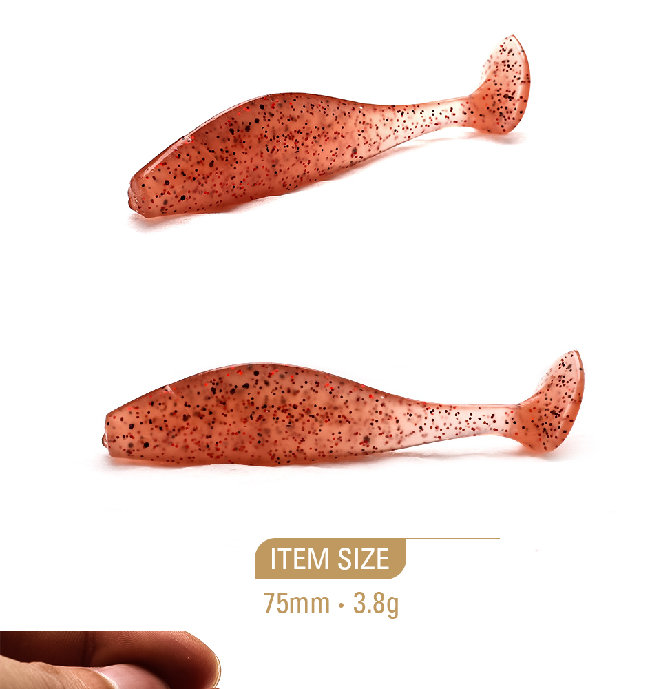 XIN-V -Xin-v Soft Lure Sh75 Free Sample 75mm 38g Artificial Lure
