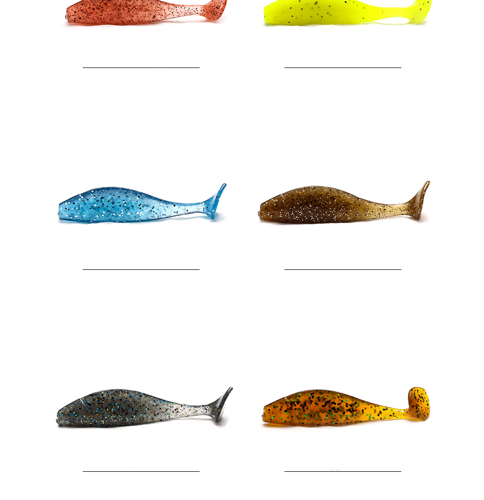 XIN-V -Xin-v Soft Lure Sh75 Free Sample 75mm 38g Artificial Lure-2