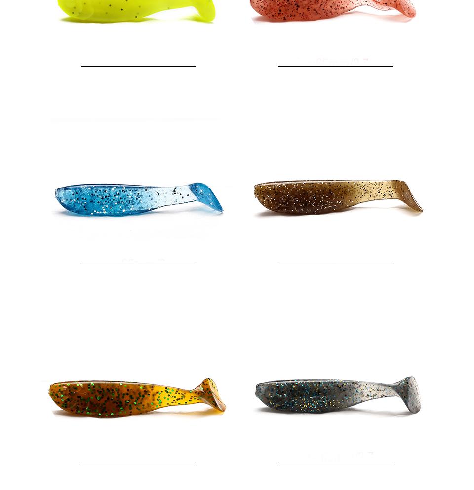 XIN-V -Find Panfish Soft Plastics Prawn Soft Plastics From Xin-v Fishing Lures-2
