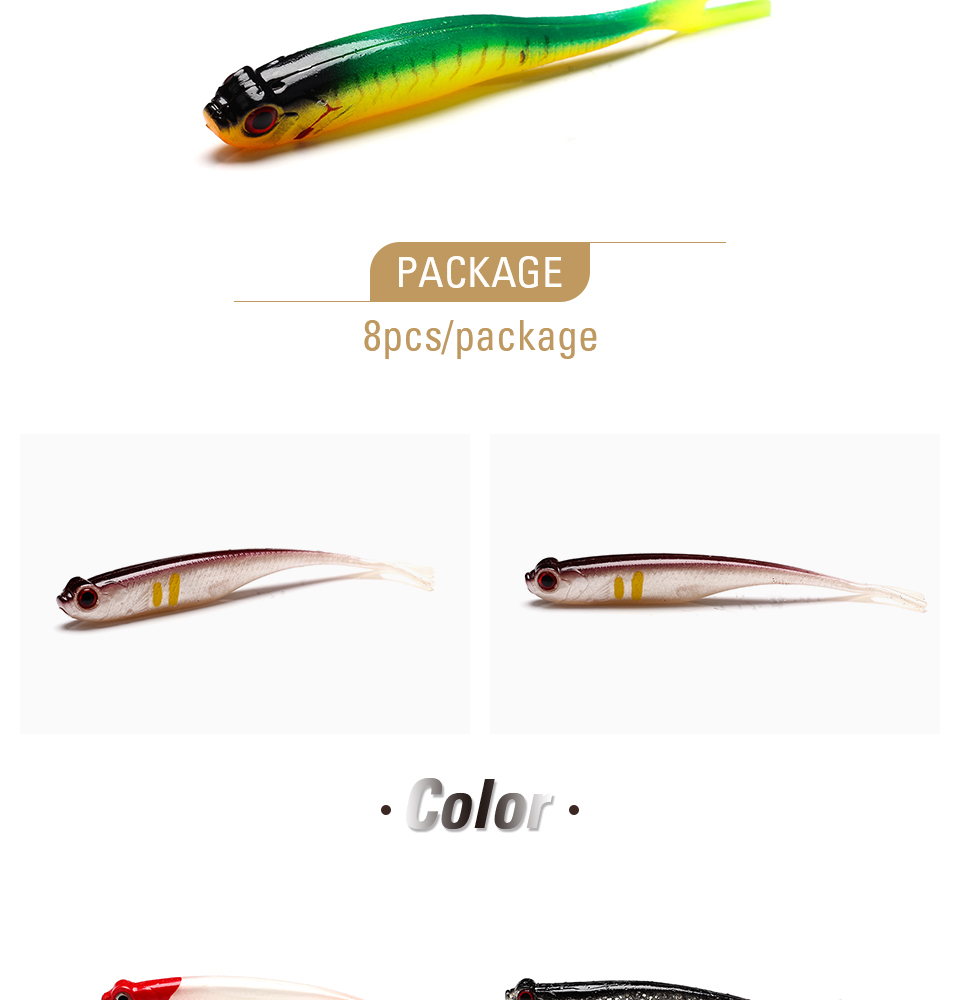 XIN-V -Find Xin-v Soft Lure Real Shad Free Sample 110mm 73g Artificial Lure-2