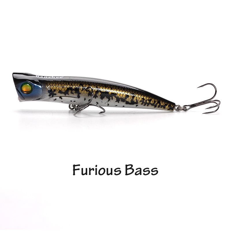 XIN-V -Xin-v Popper Lure 115mm 22g Vp03 Top Water Popper Lure-3