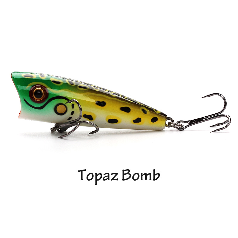 XIN-V -Xin-v Popper Lure 60mm 8g Vp01 Top Water Popper Lure-2