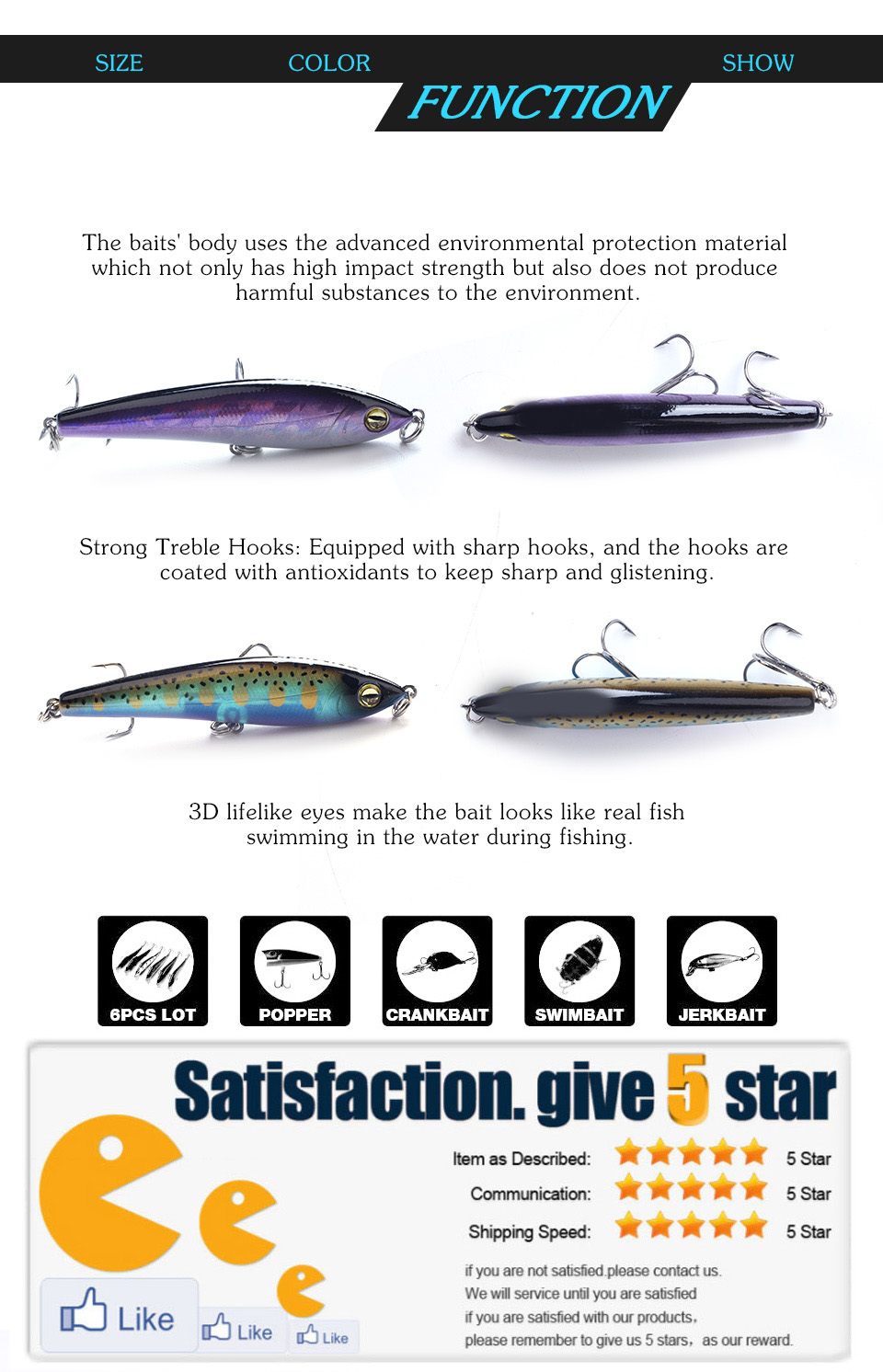 XIN-V -Oem Swimbait Manufacturer, Best Lures | Xinv-3