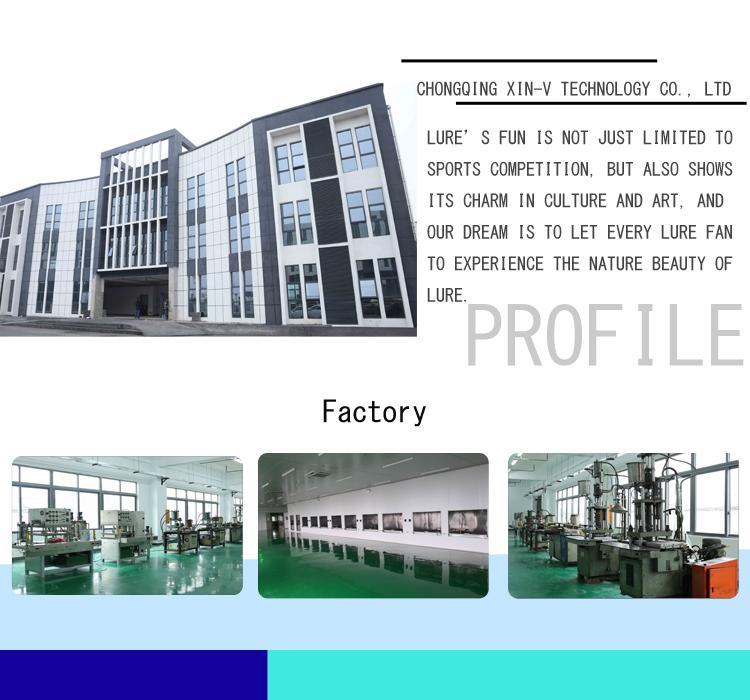 XIN-V -High-quality Xin-v Minnow Lure 80mm 5g Vm03 Floating Minnow Lure-8