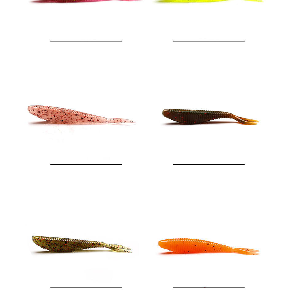 XIN-V -Find Soft Fishing Lures Xin-v Soft Lure Shad60 Free Sample 60mm 15g-1
