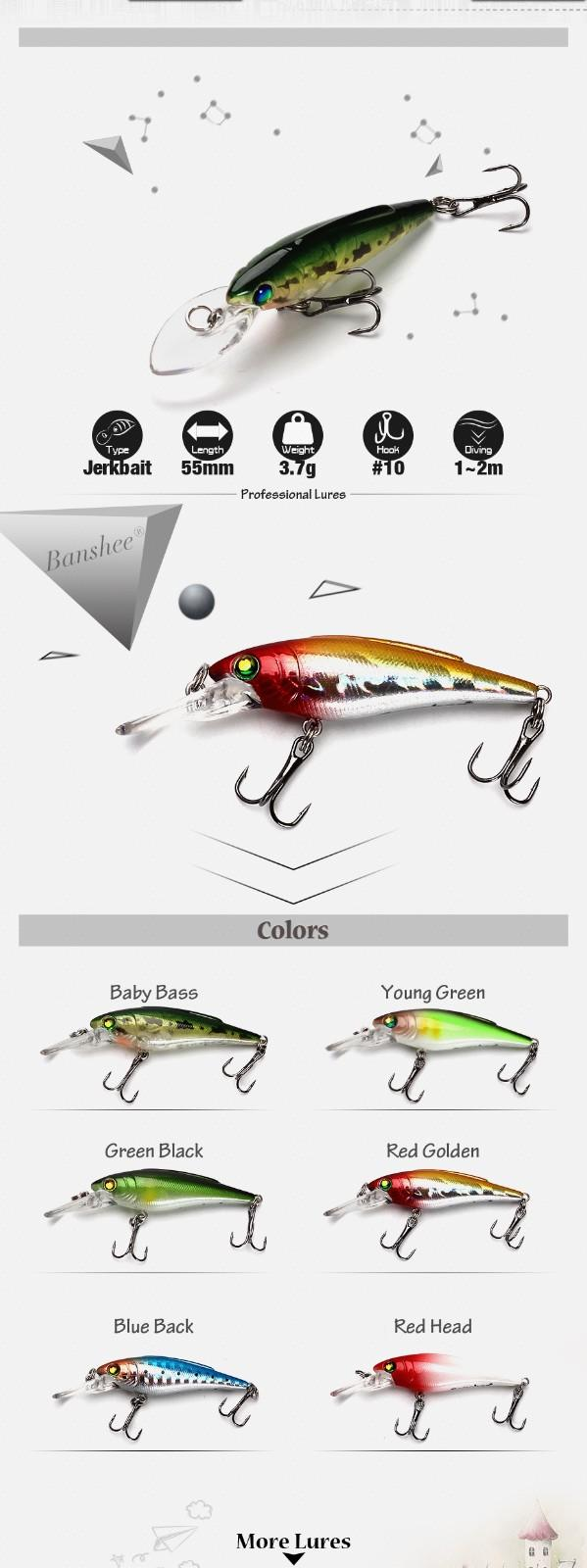 XIN-V -High-quality Musky Lures | Xin-v Minnow Lure 55mm 37g K223 Slow Sinking