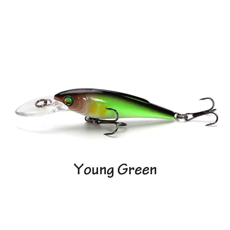 XIN-V -High-quality Musky Lures | Xin-v Minnow Lure 55mm 37g K223 Slow Sinking-2