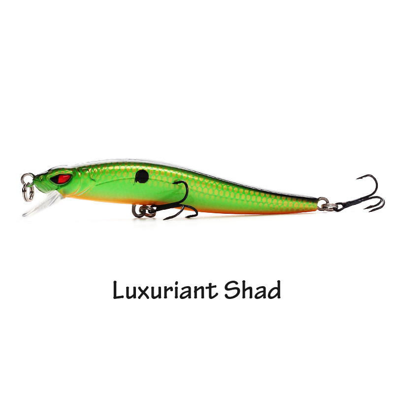 XIN-V -High-quality Crappie Lures | Xin-v Minnow Lure 80mm 5g Vm03 Floating Minnow Lure