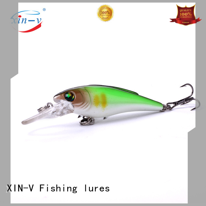 XINV Brand stick diving floating swimbait bass lures