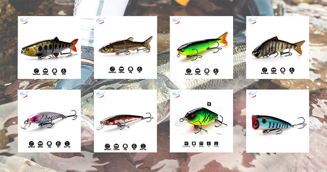 XIN-V -High-quality Xin-v Jerkbait Vj01 95mm 14g Floating Fishing Lure Rattle-1
