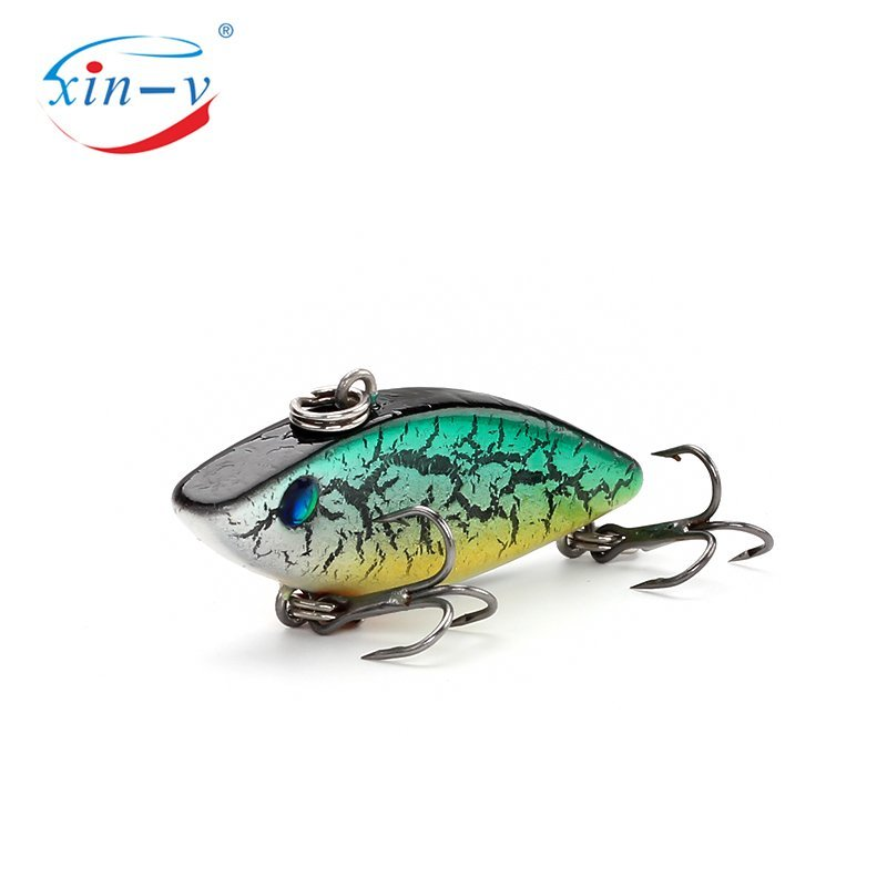 XIN-V Crankbait Mini Vib Vibration Small Wobbler Fishing Lure CRT Rattle Artificial Hard Bait Lipless Crank Bait Wholesale