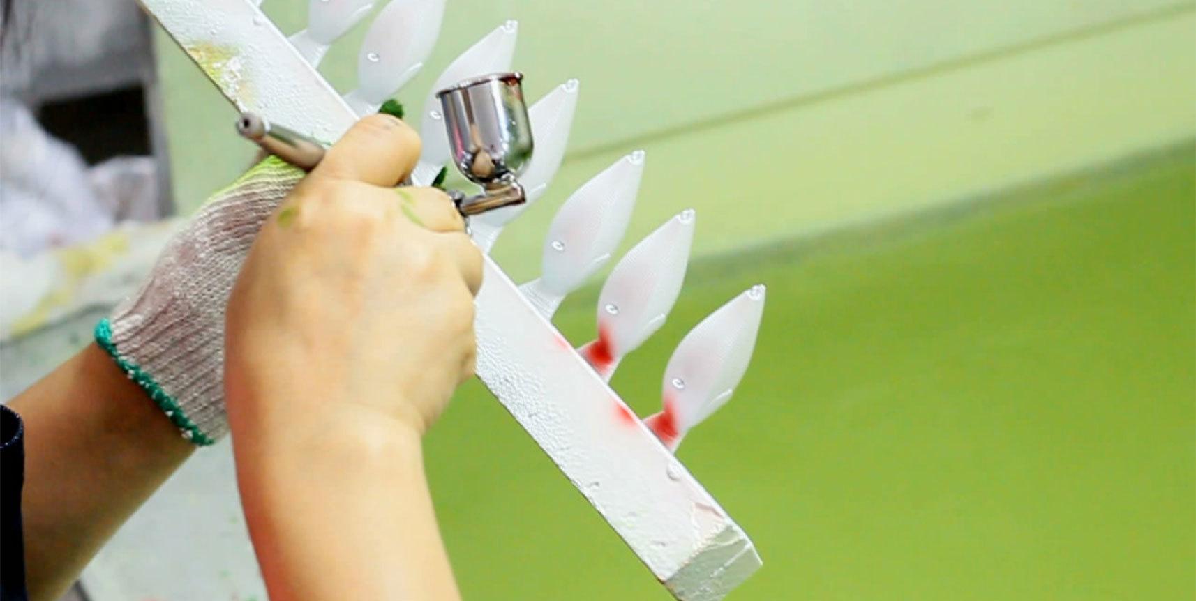 3. Painting Process