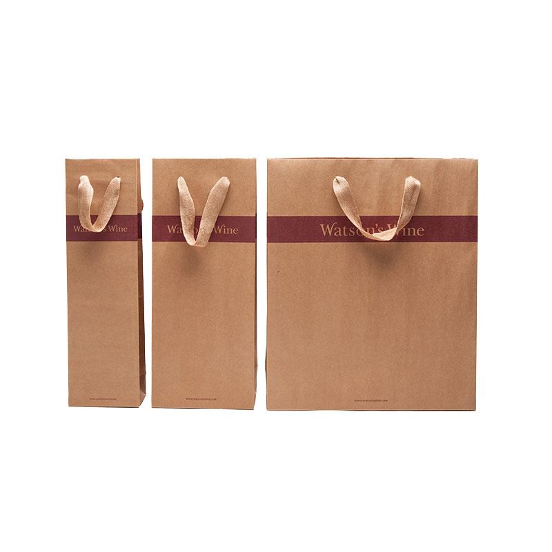 Guangjin -Professional Kraft Paper Bags With Handles Paper Bags Wholesale-2