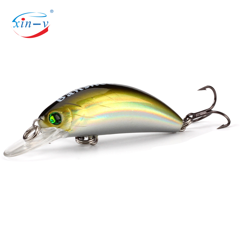 XIN-V Crankbait GO-CM001 Floating Bait Wobbler Trout Perch Bass Fishing Lures Freshwater Isca Artificial Bait Peche Leurre Pesca