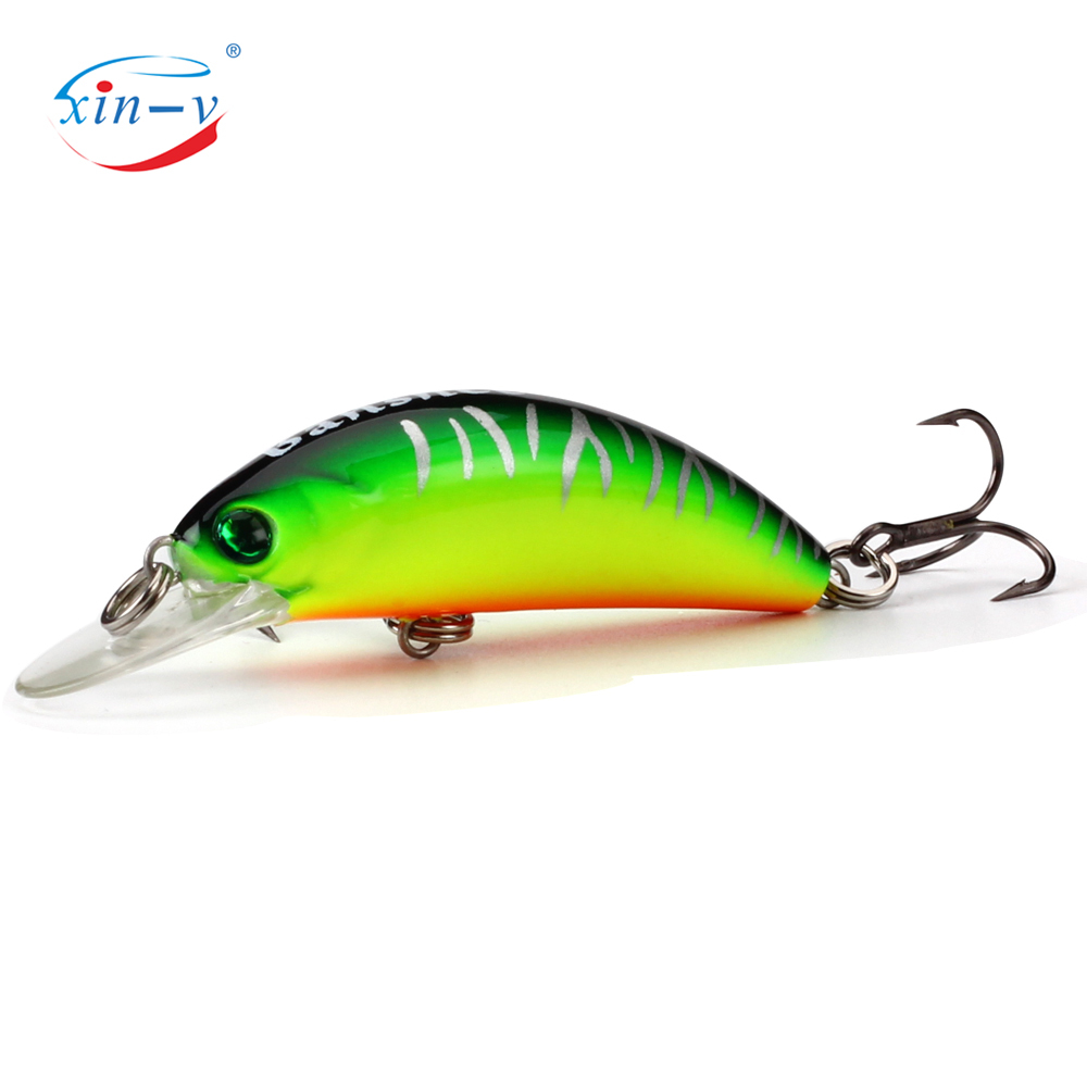 XIN-V Crankbait GO-CM001 Floating Bait Wobbler Trout Perch Bass Fishing Lures Freshwater Isca Artificial Bait Peche Leurre Pesca