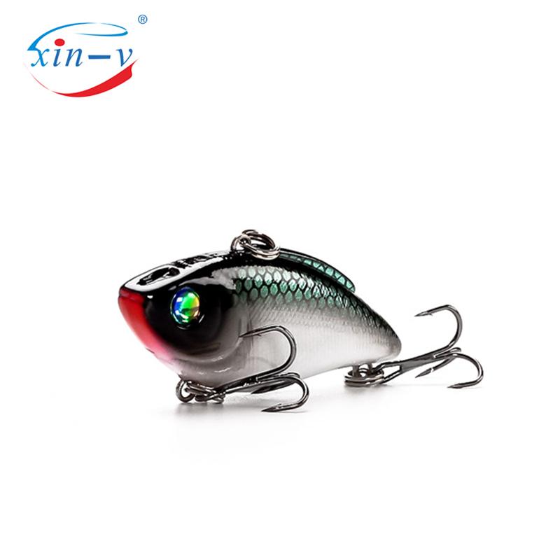 XIN-V Hard Crankbait V50 50mm 8.7g Fishing Lure Hard Plastic Artificail Bait VIB Vibrator Wobbler Vibe Vibration Sinking Lipless