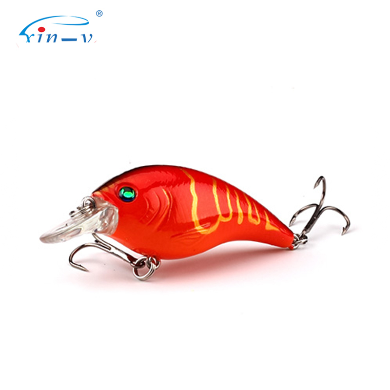 XIN-V Crankbait VC01 60mm 10g Thrill Thunder Floating Fishing Lure Rattle Sound Wobbler Artificial Hard Bait Shallow Diving Cran
