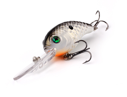 XIN-V -Best Xin-v Crankbait Vc04 50mm 10g Floating Bass Fishing Lure Rattle Sound-7