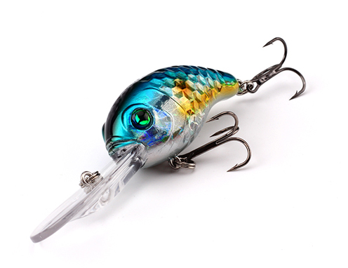 XIN-V -Best Xin-v Crankbait Vc04 50mm 10g Floating Bass Fishing Lure Rattle Sound-8