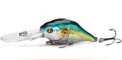 XIN-V -Professional Xin-v Crankbait Vc07 50mm 10g Profound Pulse Floating Bass-8