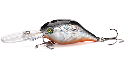XIN-V -Professional Xin-v Crankbait Vc07 50mm 10g Profound Pulse Floating Bass-9