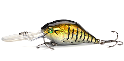 XIN-V -Professional Xin-v Crankbait Vc07 50mm 10g Profound Pulse Floating Bass-10