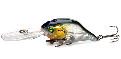 XIN-V -Professional Xin-v Crankbait Vc07 50mm 10g Profound Pulse Floating Bass-11