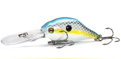 XIN-V -Professional Xin-v Crankbait Vc07 50mm 10g Profound Pulse Floating Bass-12