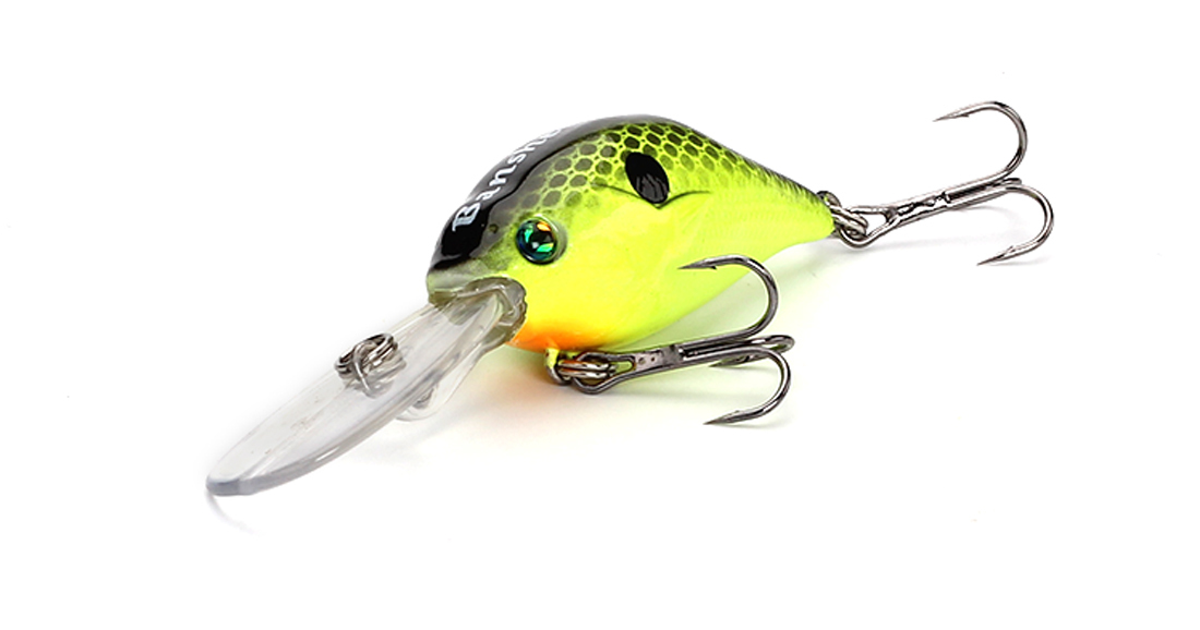 small fishing lures artificail bill bass lures chub company