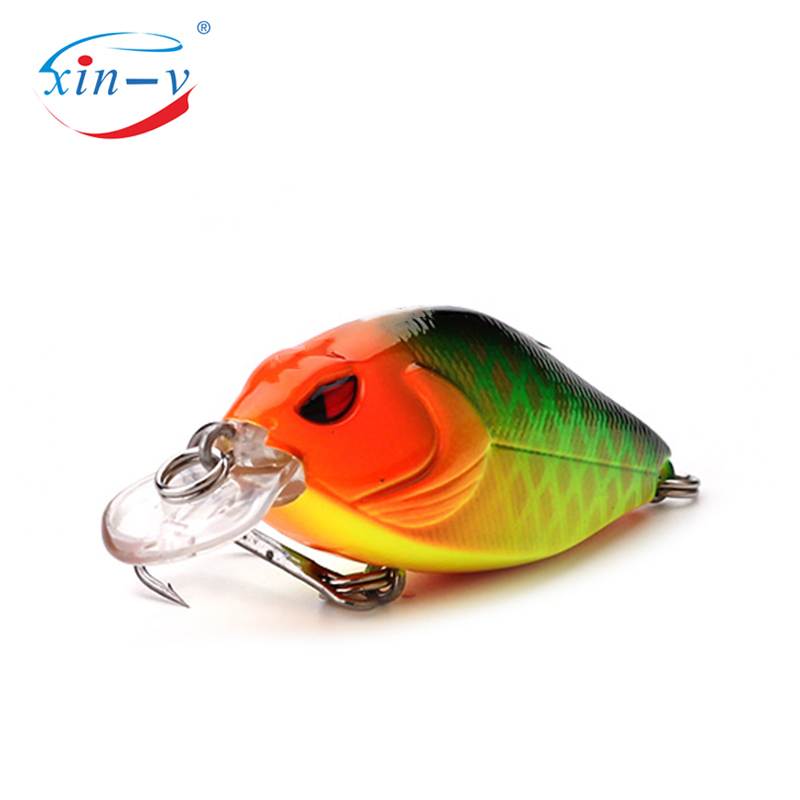 XIN-V Crankbait VKR58 58mm 9g Snoop VIBS Shallow Diving Crankbaits Fishing Lure Rattle Sound Wobbler Artificial Hard Artificial