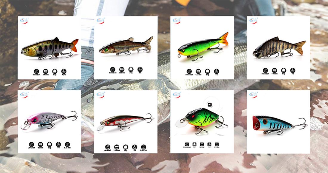 XIN-V -High-quality Xin-v Crankbait K223 55mm 37g Freshwater Fishing Lures-1