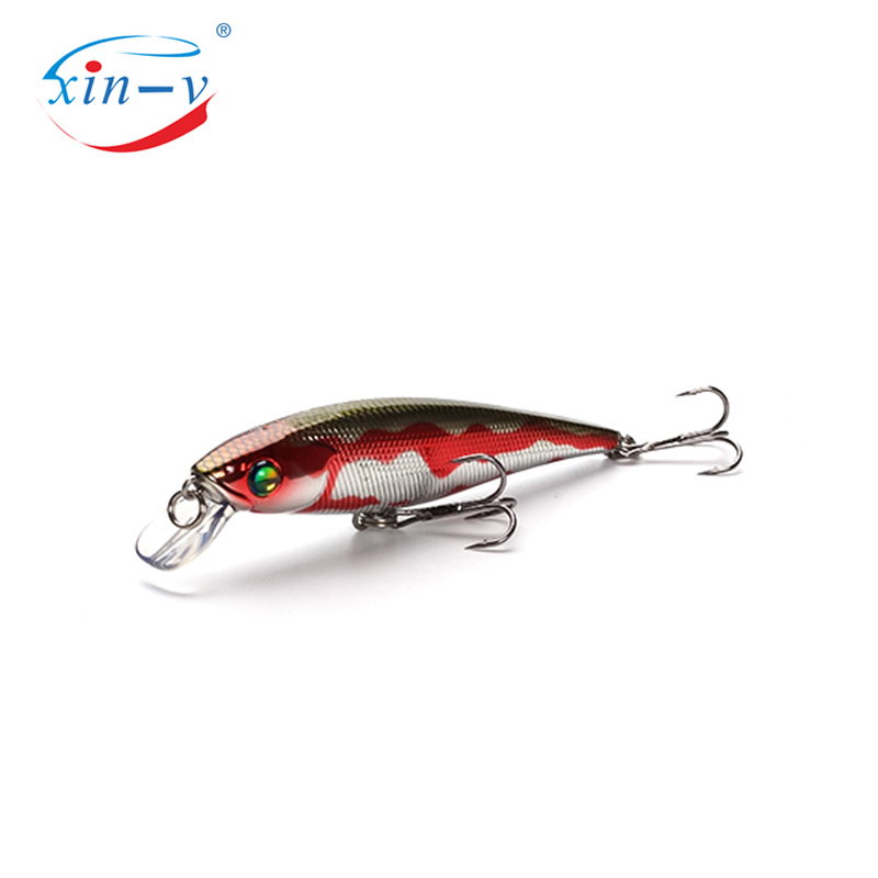 XIN-V Jerk Bait MNNW40 100mm 16g Chilly Stick JR Rattle Sound Wobbler Hard Artificial Bait Bass Floating Fishing Lure Jerkbaits