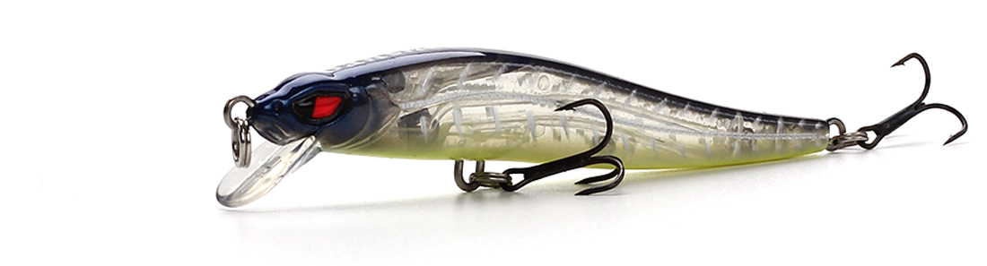 XIN-V -Best Xin-v Jerkbait Vm02 100mm 10g Slim Fighter Fishing Lure Rattle Sound-8