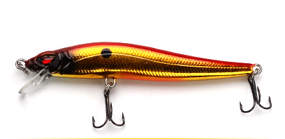 XIN-V -Best Xin-v Jerkbait Vm02 100mm 10g Slim Fighter Fishing Lure Rattle Sound-12