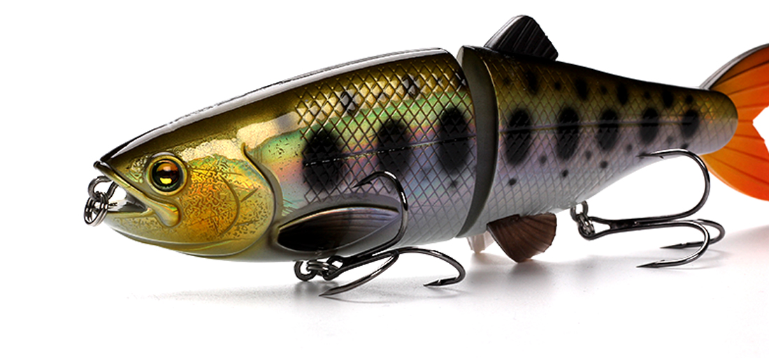 XIN-V -Xin-v Swimbait At01 200m 90g 2 Sections Multi Jointed Fishing Lure-9