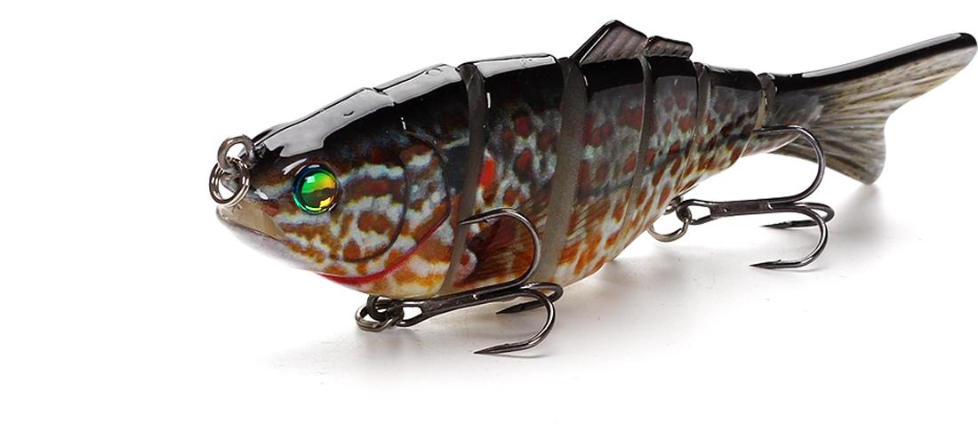 XIN-V -High-quality Xin-v Swimbait Vsj06-5 120mm 31g Fishing Lure-9