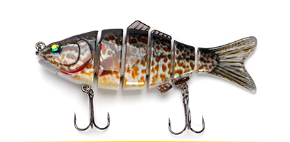 XIN-V -Find Xin-v Swimbait Vsj06-5 120mm 31g Fishing Lure Isca 6 Segments Multi-8