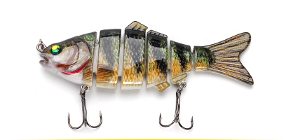 XIN-V -Find Xin-v Swimbait Vsj06-5 120mm 31g Fishing Lure Isca 6 Segments Multi-11