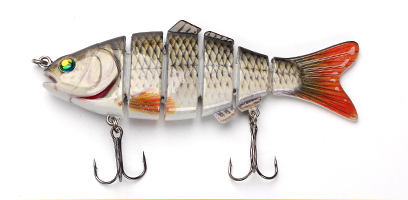 XIN-V -Xin-v Swimbait Vsj06-5 120mm 31g Fishing Lure Isca 6 Segments Multi Jointed-13