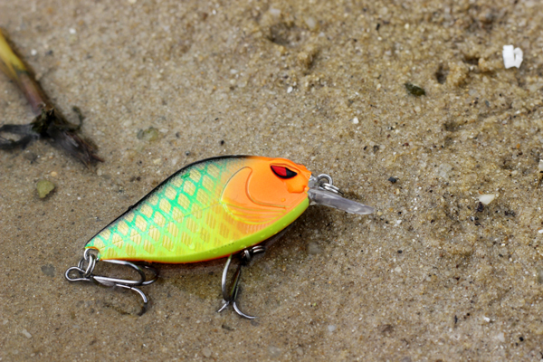 XIN-V -Xin-v Crankbait Vkr68 Snoop Vibs Shallow Diving Crankbaits Dying Rattle-9