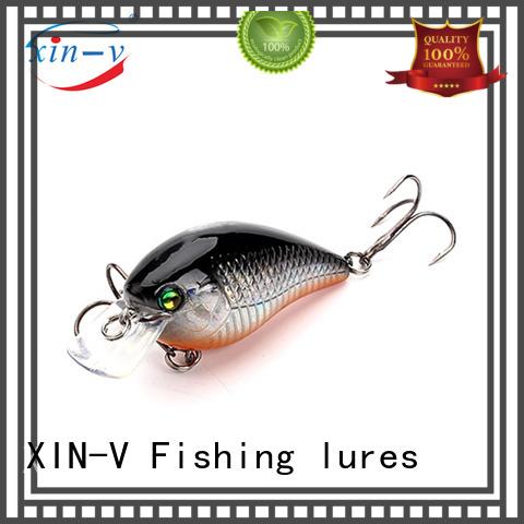 plastic bass bait customization for pool XINV