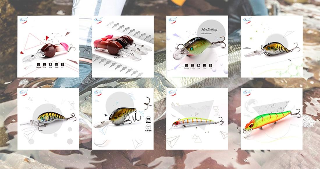 XIN-V -Find Manufacture About Xin-v Hard Crankbait V50 50mm 87g Fishing Lure-1