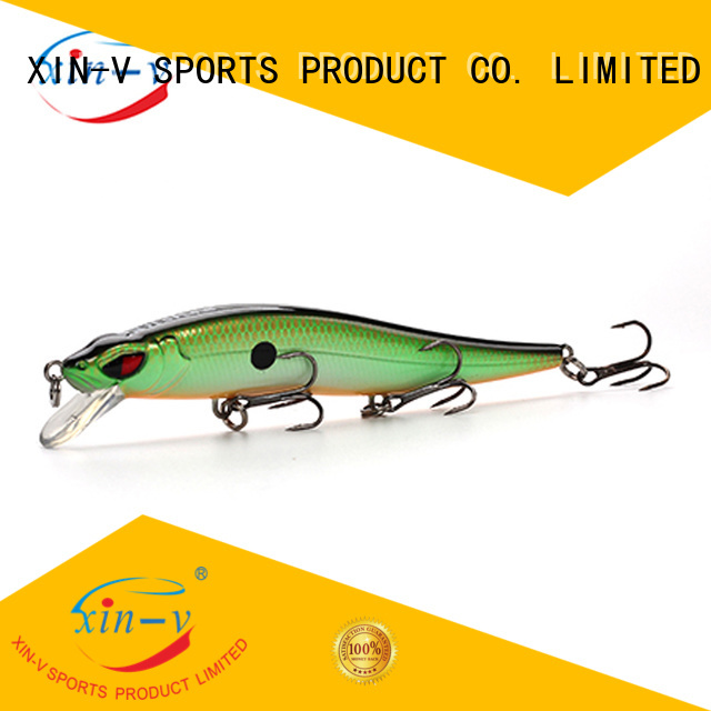 XINV Brand floating slow bullet bass lures manufacture